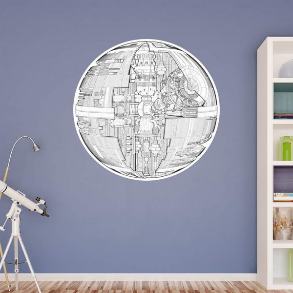 DEATH STAR TECHNICAL ILUSTRATION
