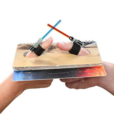 LIGHTSABER THUMB WRESTLING